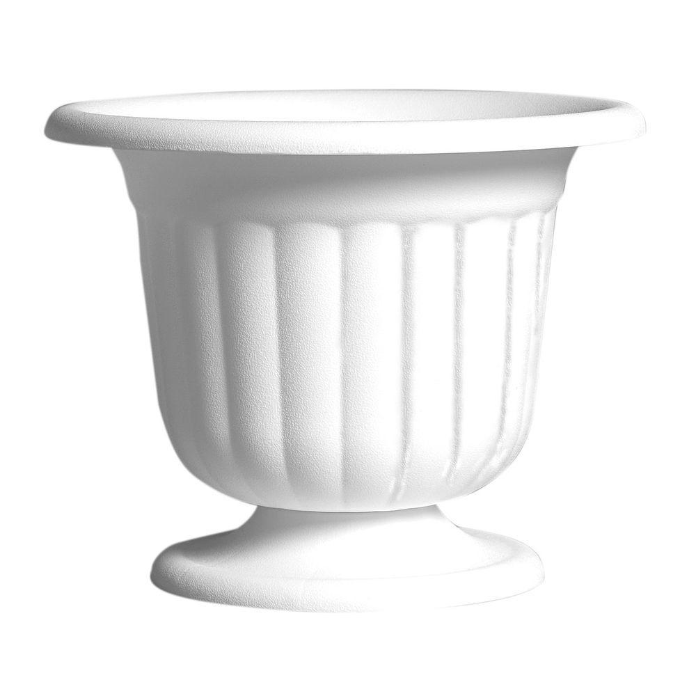 9-5/8 in. Plastic Pedestal Urn