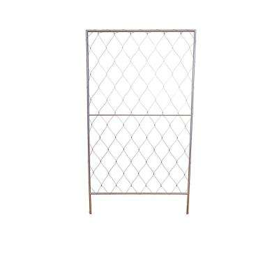 Free Standing Trellis Without Base