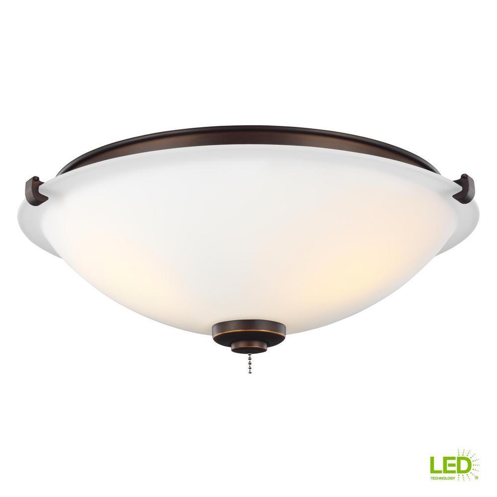 Monte Carlo 3-Light LED Ceiling Fan Light Kit-MC247RB