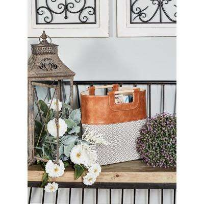 Mediterranean Magazine Racks Decorative Storage The Home Depot Best Decorative Magazine Holders