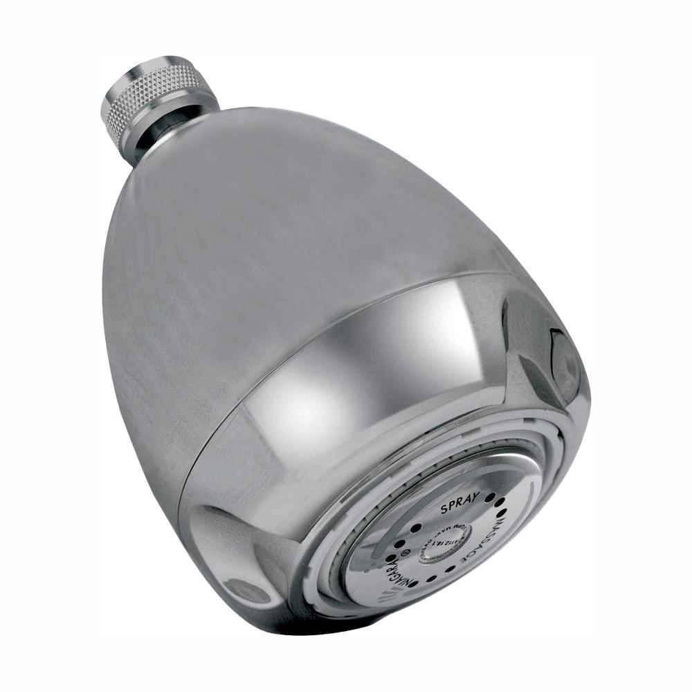 Niagara Conservation 3-Spray 3 in. Niagara Earth Fixed Mount Showerhead in Chrome