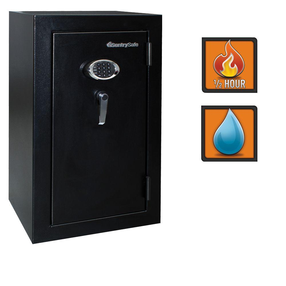 Sentrysafe 4 7 cu ft electronic lock fire safe ef4738e for How to buy a home safe