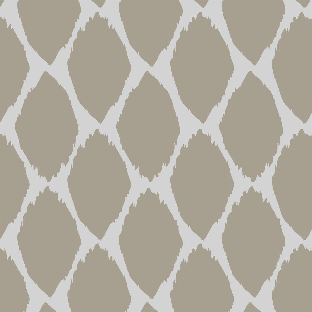 Acacia Ikat Wall and Floor Stencil - 19.5 in. x 19.5