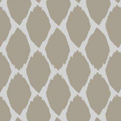 Acacia Ikat Wall and Floor Stencil - 19.5 in. x 19.5 in. Stencil Sheet