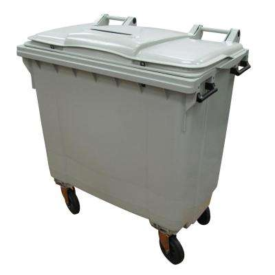 200 Gal. Grey Wheeled Document Security Cart