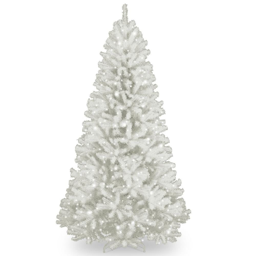 National Tree Company 9 ft. North Valley White Spruce Artificial ...