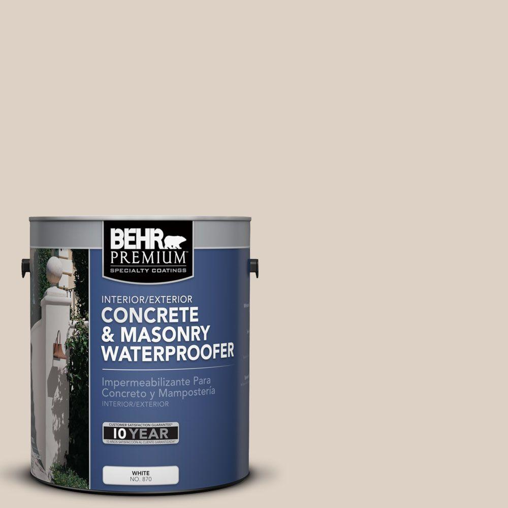BEHR Premium 1 gal. #BW-33 Natural Beige Concrete and Masonry Waterproofer