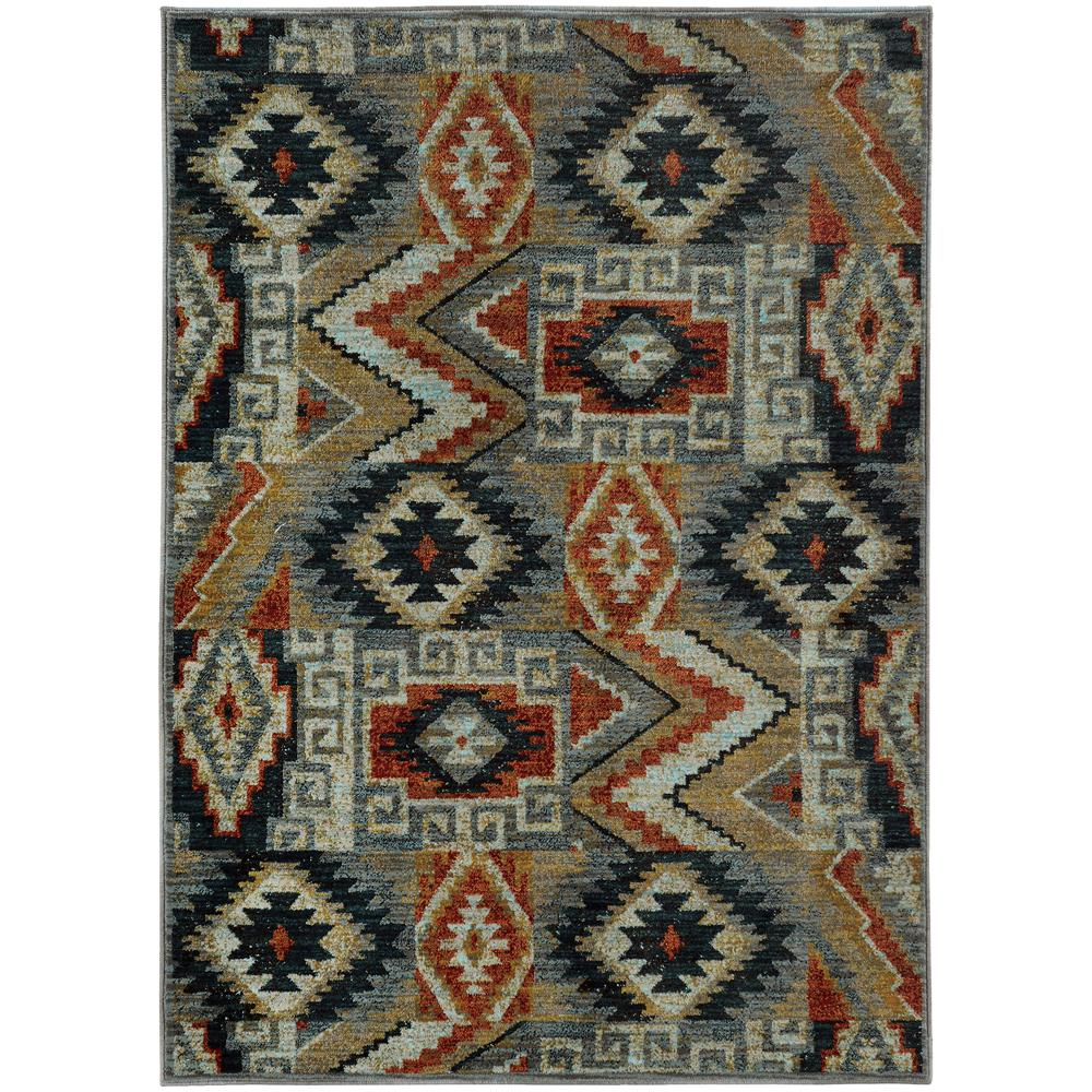 Home Decorators Collection Orbit Mushroom 5 Ft 3 In X 7 Ft 6 In Area Rug 443277 The Home Depot