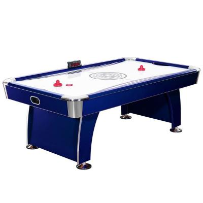 Phantom 7.5 ft. Air Hockey Game Table with Electronic Scoring, Dual Output Blowers, Automatic Return, Strikers and Pucks