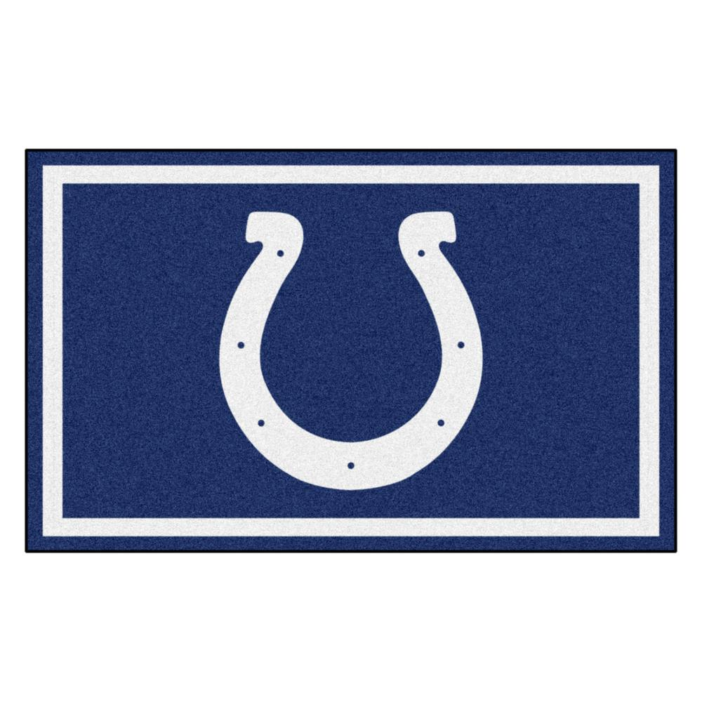 cheap for discount 6eac7 1f182 Indianapolis Colts 4 ft. x 6 ft. Area Rug