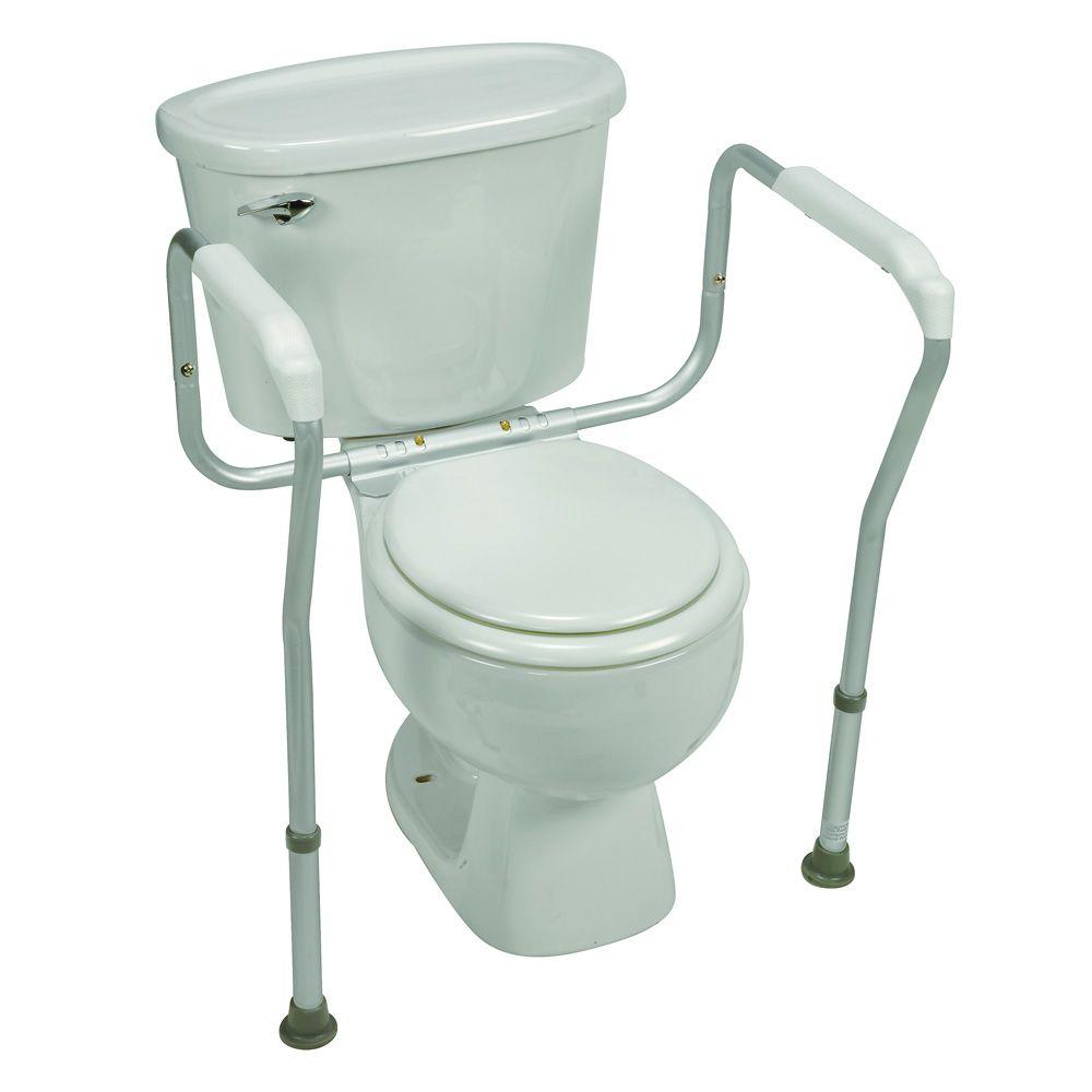 Toilet Safety Arm Support With BactiX