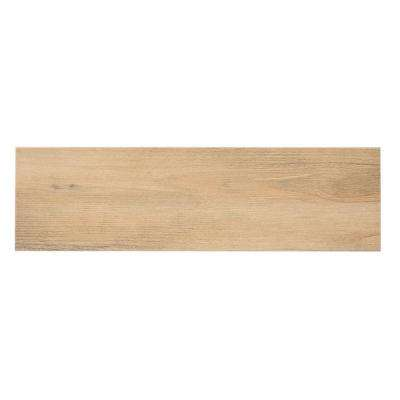 Listello Ara Noce Porcelain Floor And Wall Tile   4 In. X 4 In.