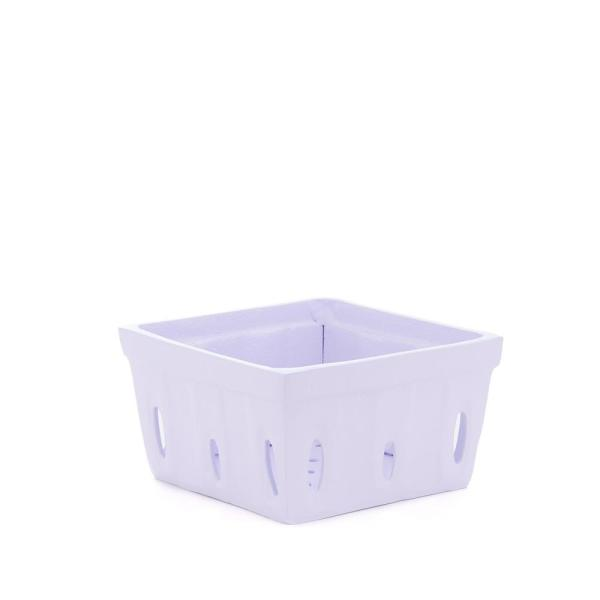 Old Dutch 2-3/4 in. H White Berry Basket