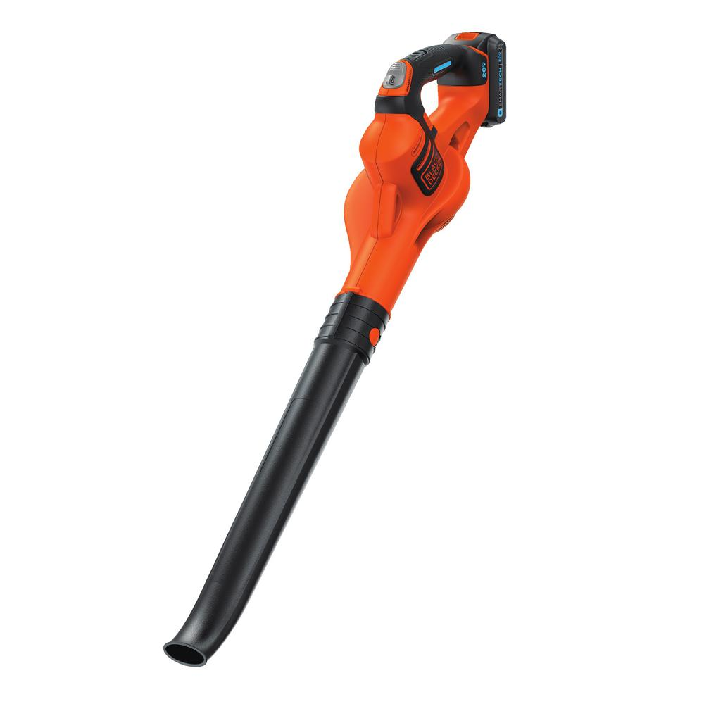 SMARTECH 130 MPH 80 CFM 20-Volt Max Lithium Ion Cordless Sweeper