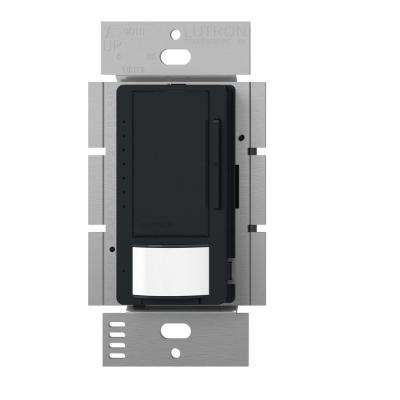 Maestro C.L Dimmer and Vacancy Motion Sensor, Single Pole and Multi-Location, Black