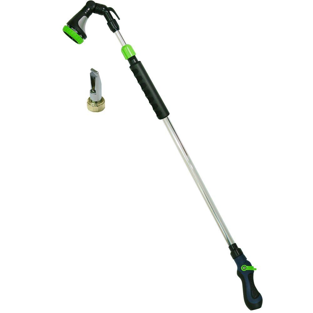 Comfi-Rain Telescoping Water Wand and Gutter Cleaner Nozzle Combo