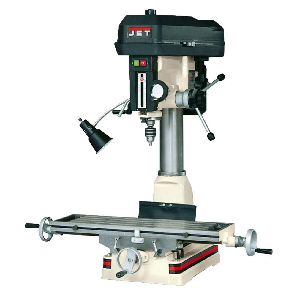 Jet 2 Hp Milling Drilling Machine With R8 Taper And