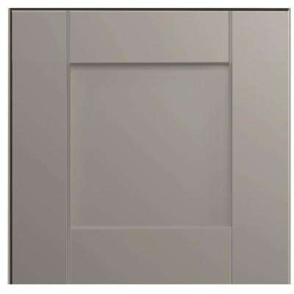 12.75x12.75 in. Cabinet Door Sample in Shaker Dove Gray