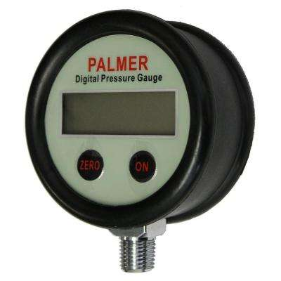 2.5 in. 60 psi Clean Gas Type Digital Pressure Gauge