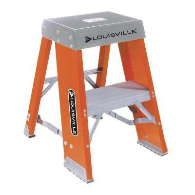 2 ft. Fiberglass Step Stand with 300 lbs. Load Capacity Type IA Duty Rating