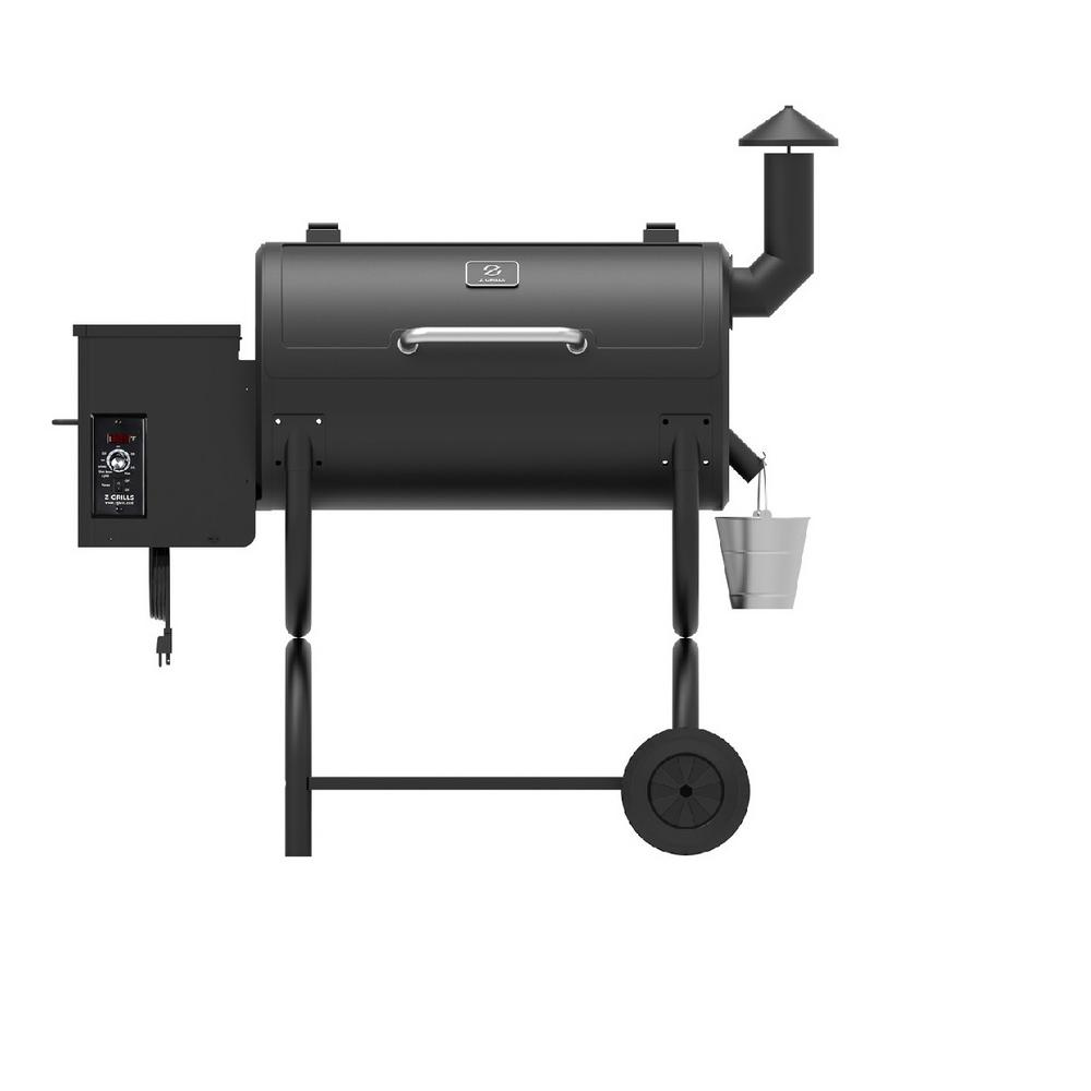 Pony Model Pellet Grill in Black
