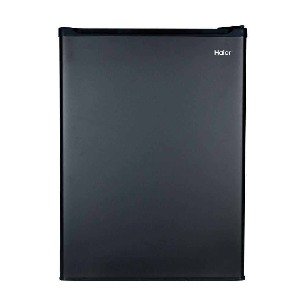 18.875 in. W 2.7 cu. ft. Mini Refrigerator in Black