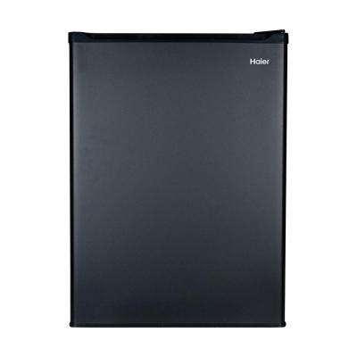 18.875 in. W 2.7 cu. ft. Mini Refrigerator in Black