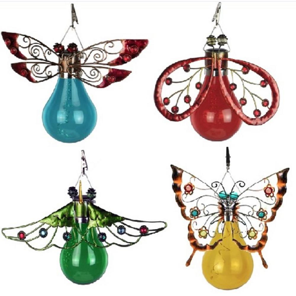 Moonrays Solar Powered Integrated Led Butterfly Moth
