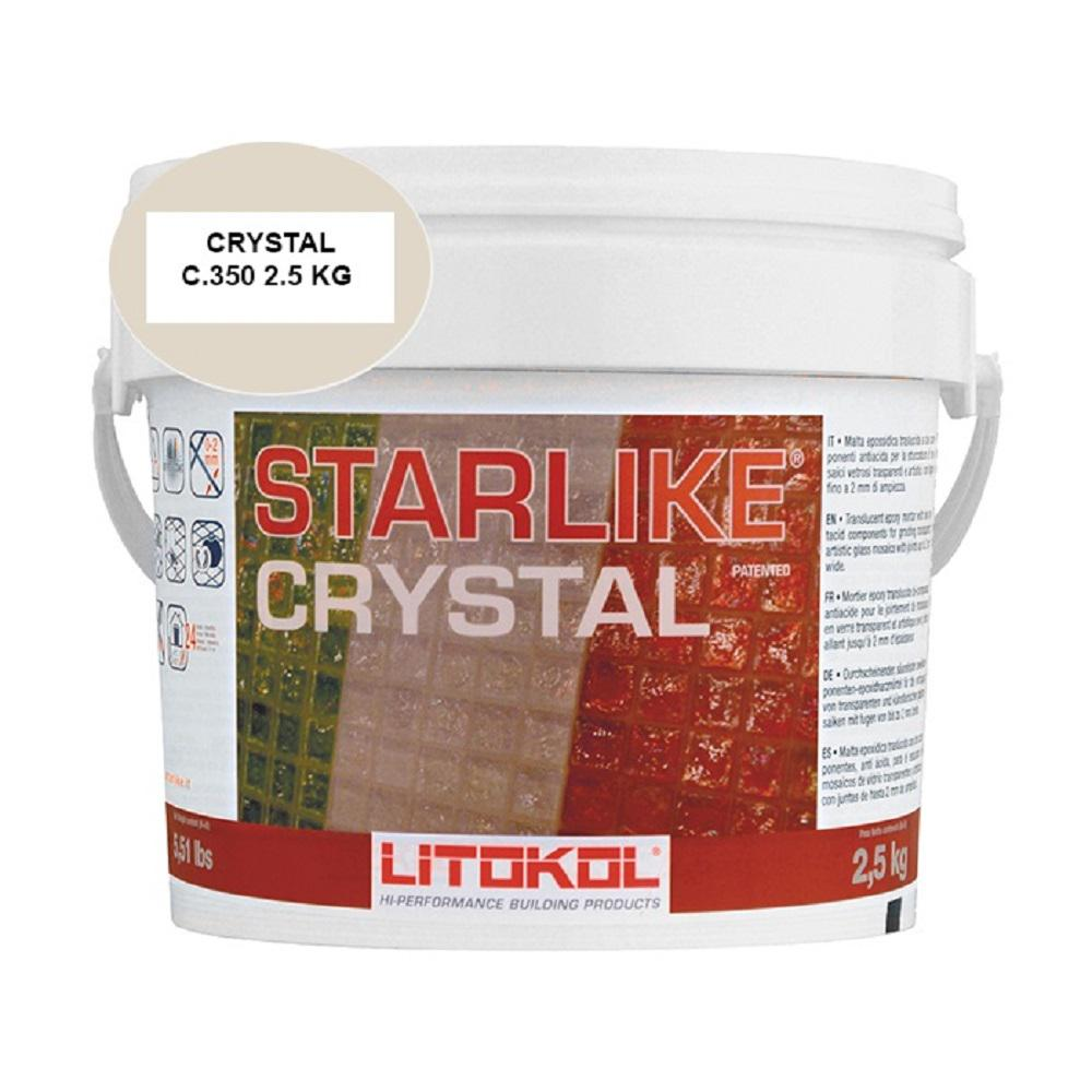 The Tile Doctor Starlike Crystal Glass Grout 2.5 kg