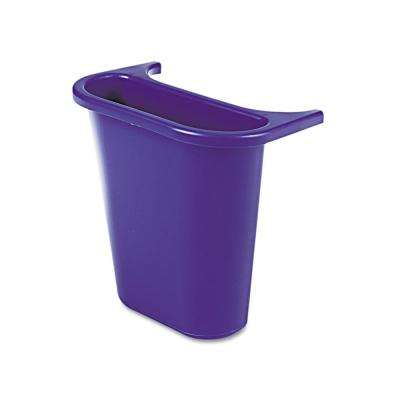4-3/4 qt. Blue In/Outside Bin Attach Recycling Container