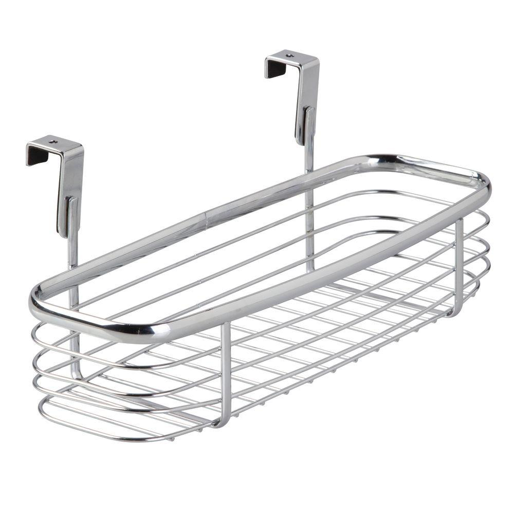 Interdesign Axis Over The Cabinet Xt Tray In Chrome 56470 The Home