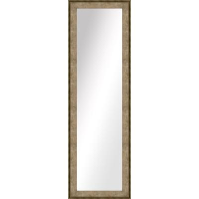 Large Rectangle Medium Champagne Art Deco Mirror (52.5 in. H x 16.5 in. W)