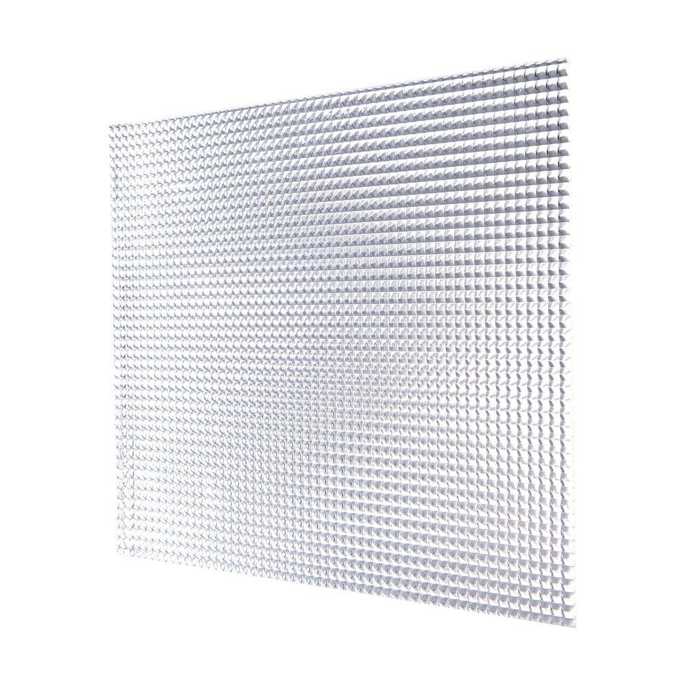 23 75 In X 47 White Egg Crate Styrene Lighting Panel