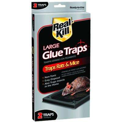 Rat Glue Traps (2-Pack)