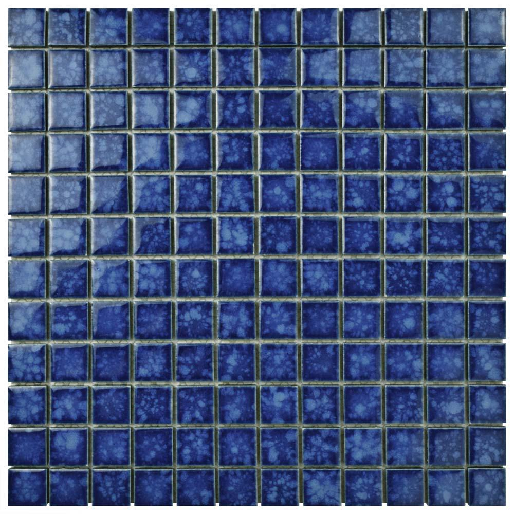 Merola Tile Lagoon Square Pacific 11 3 4 In X