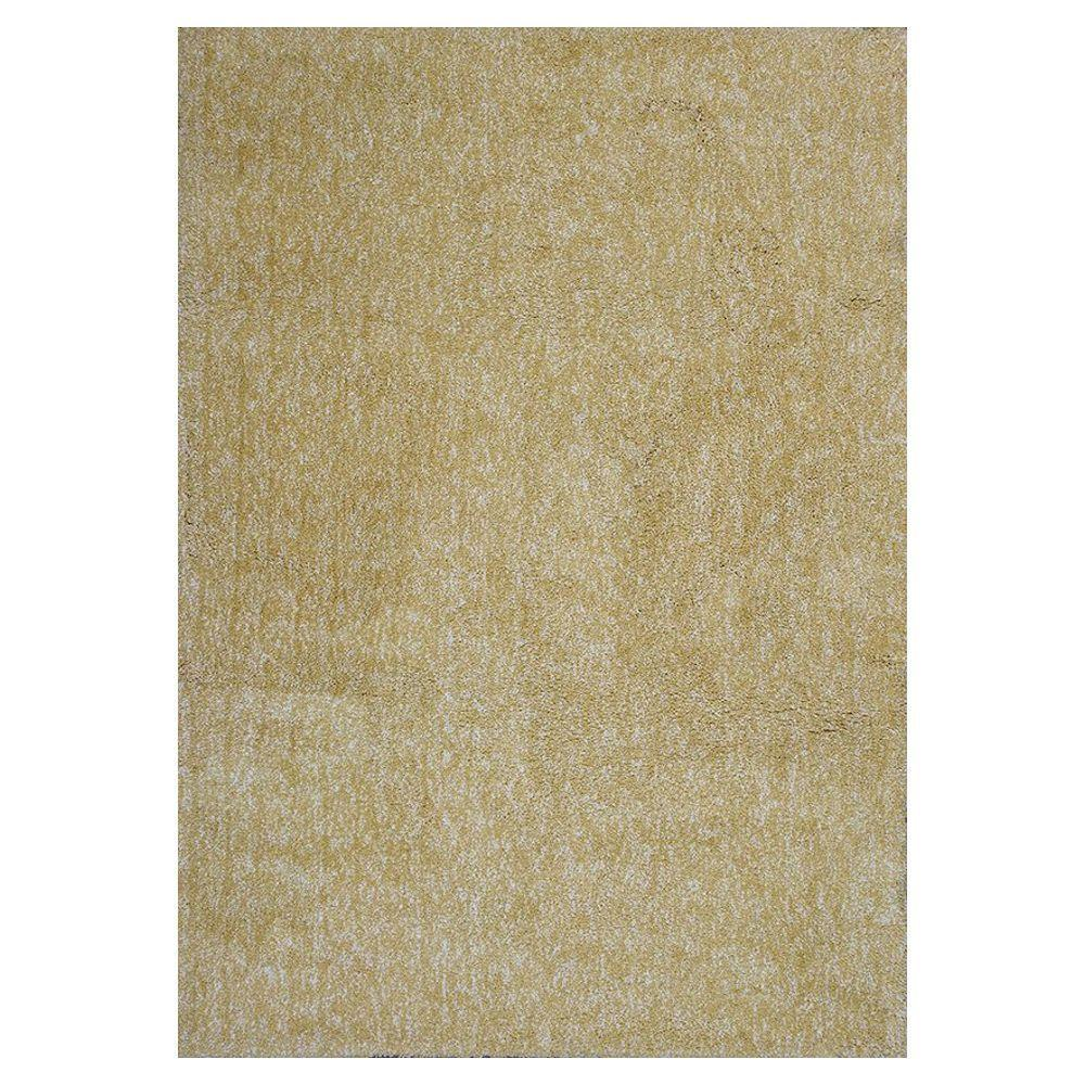 home decorators collection cozy shag yellow heather 3 ft