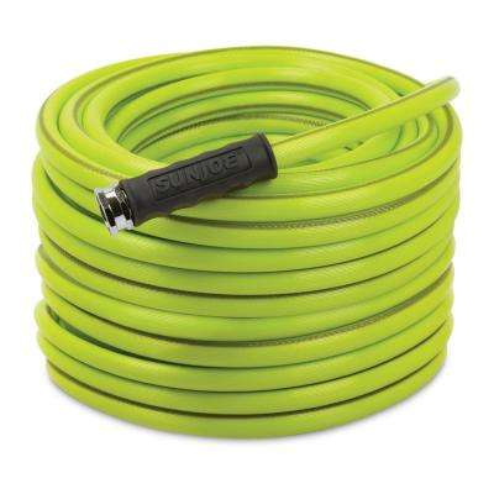Aqua Joe 1/2 in. Dia. x 100 ft. Heavy Duty, Kink-Resistant, Lightweight Garden Hose, Lead-free, BPA-Free