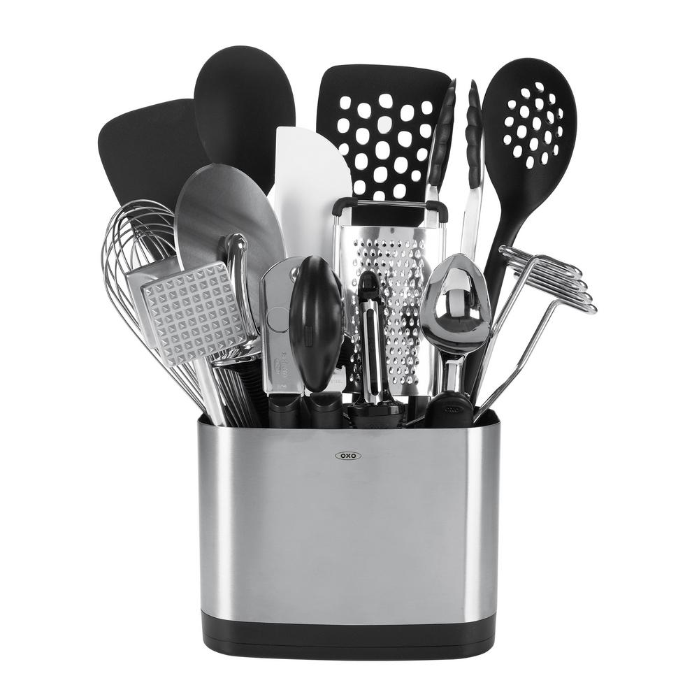 OXO Good Grips 15-Piece Everyday Kitchen Tool Set-1069228