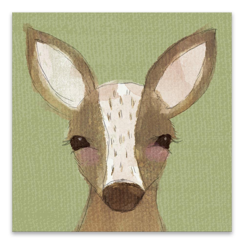"""""""Deer"""" by Lot26 Studio Printed Canvas Wall Art"""