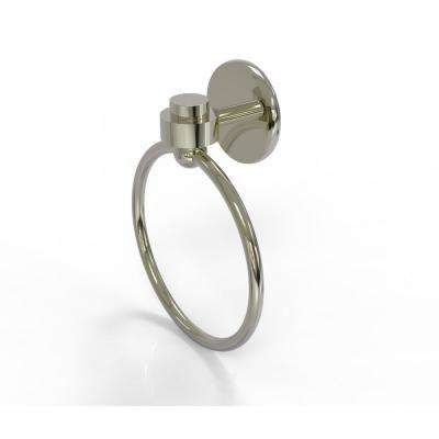 Satellite Orbit One Collection Towel Ring in Polished Nickel