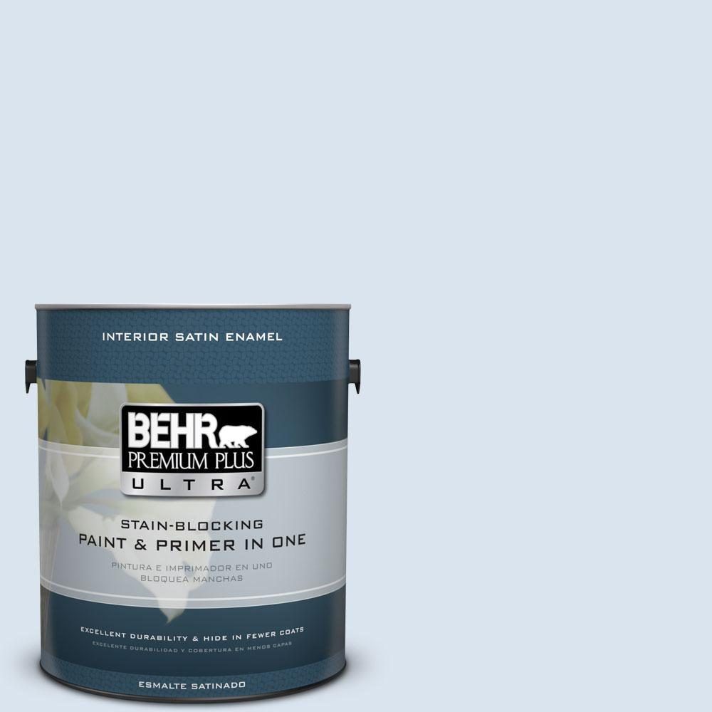 BEHR Premium Plus Ultra 1-gal. #570C-1 Arctic Shadow Satin Enamel Interior Paint