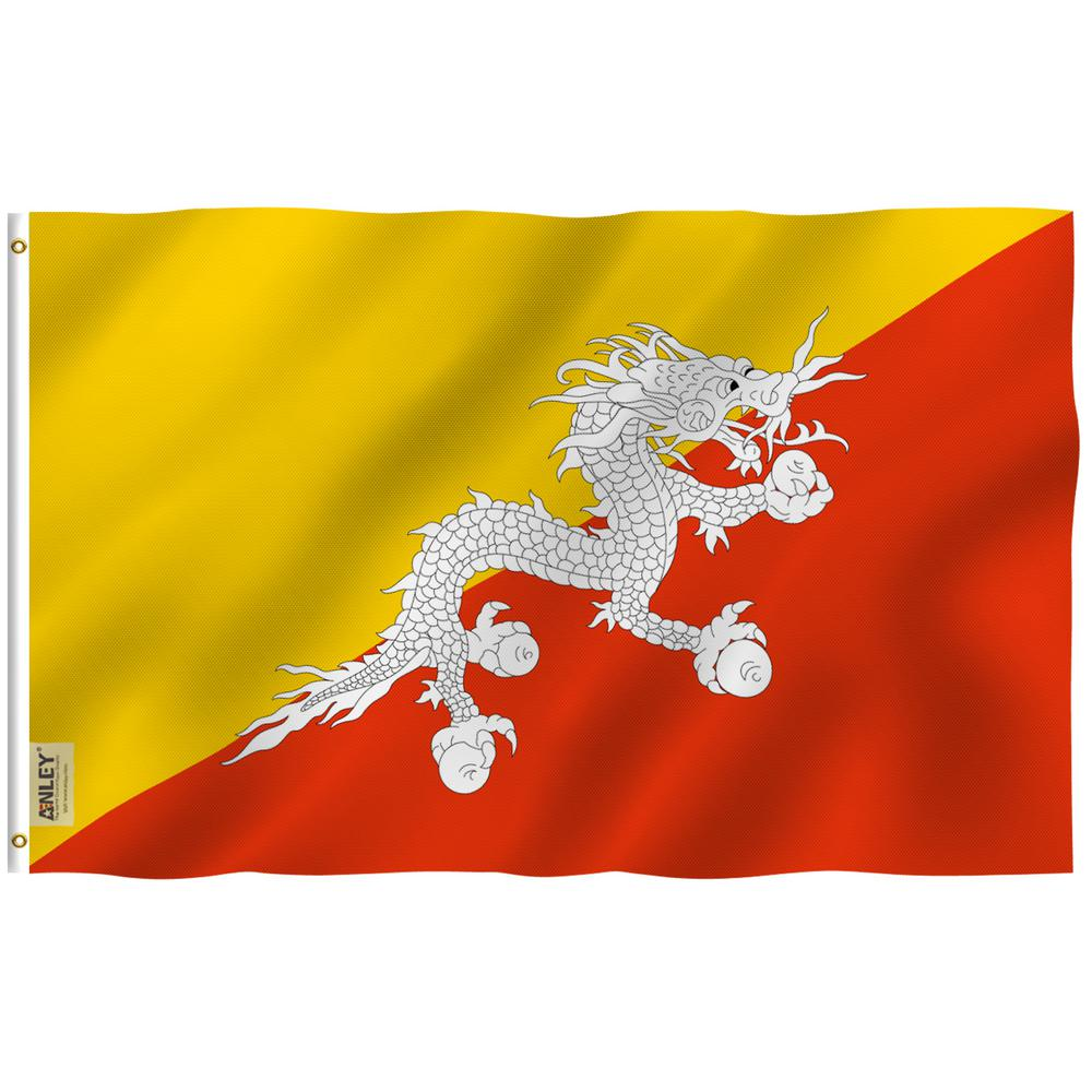 Anley Fly Breeze 3 Ft X 5 Ft Polyester Bhutan Flag 2