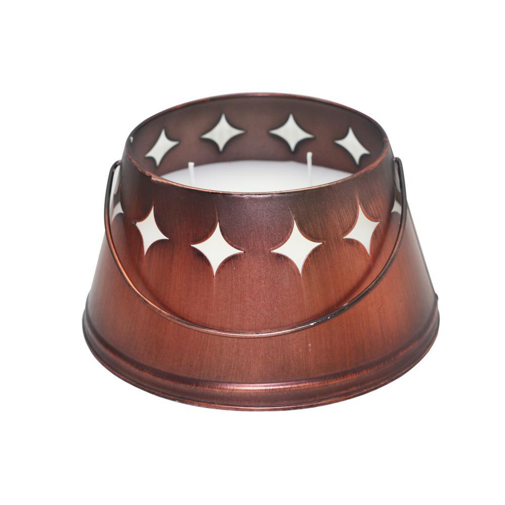 24 oz. Triple-Wick Bronze Citronella Bucket