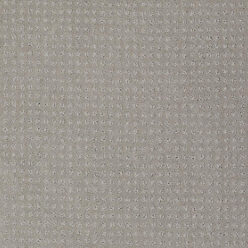 Out Of Sight I - Color Platinum Mist Pattern 12 ft. Carpet