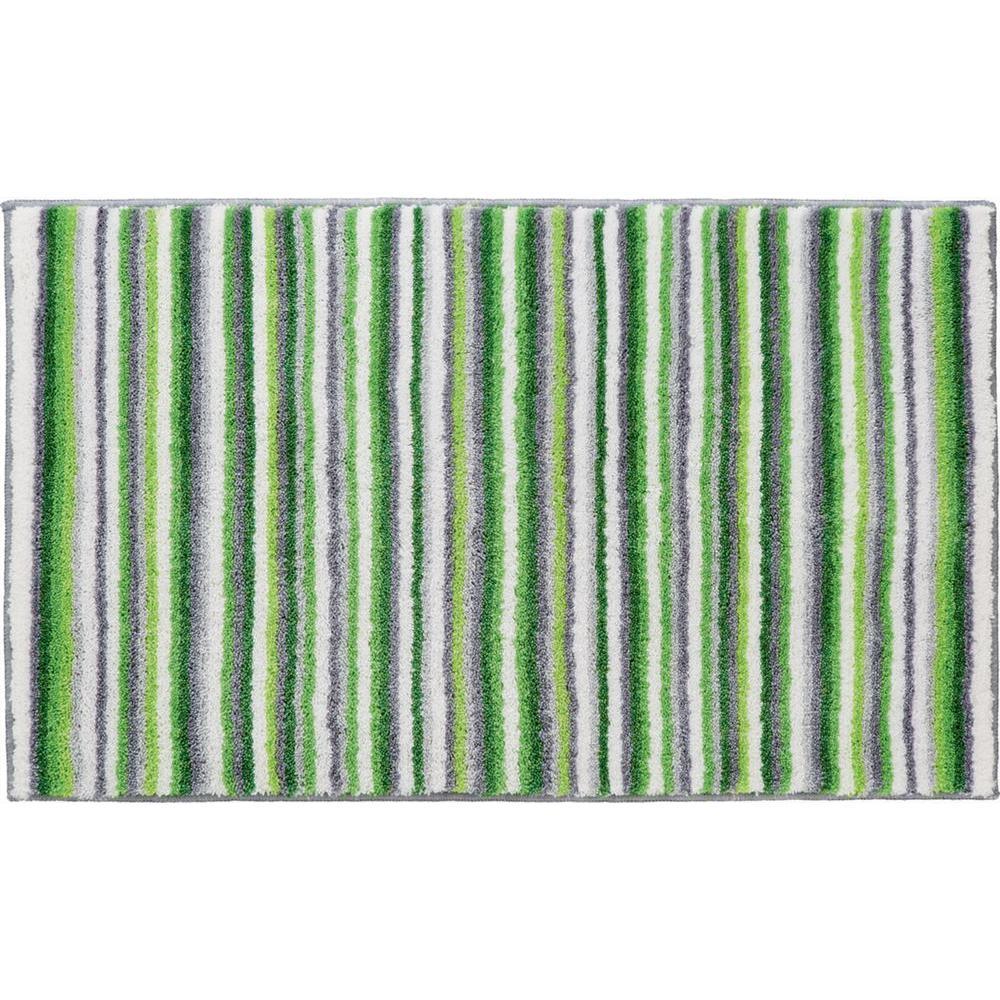 Grund Stripes Series Green 20 in. x 24 in. Premium Comfort Mat
