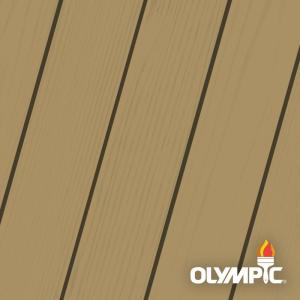 Olympic Maximum 1 Qt Fawn Solid Color Exterior Stain And