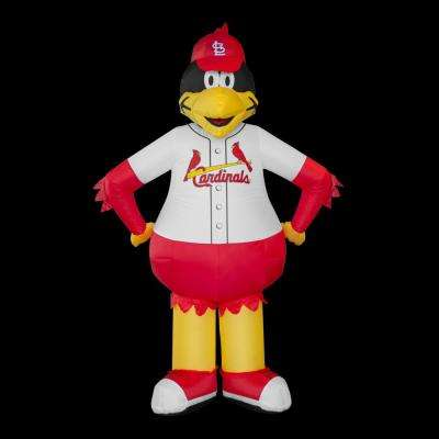 7 ft. St. Louis Cardinals Inflatable Mascot