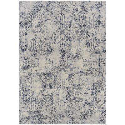 Easton Antique Lace Oyster 9 ft. x 12 ft. Area Rug