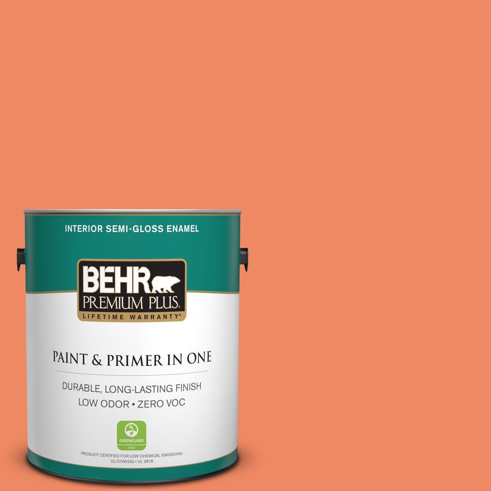 BEHR Premium Plus 1-gal. #P190-5 Orioles Semi-Gloss Enamel Interior Paint