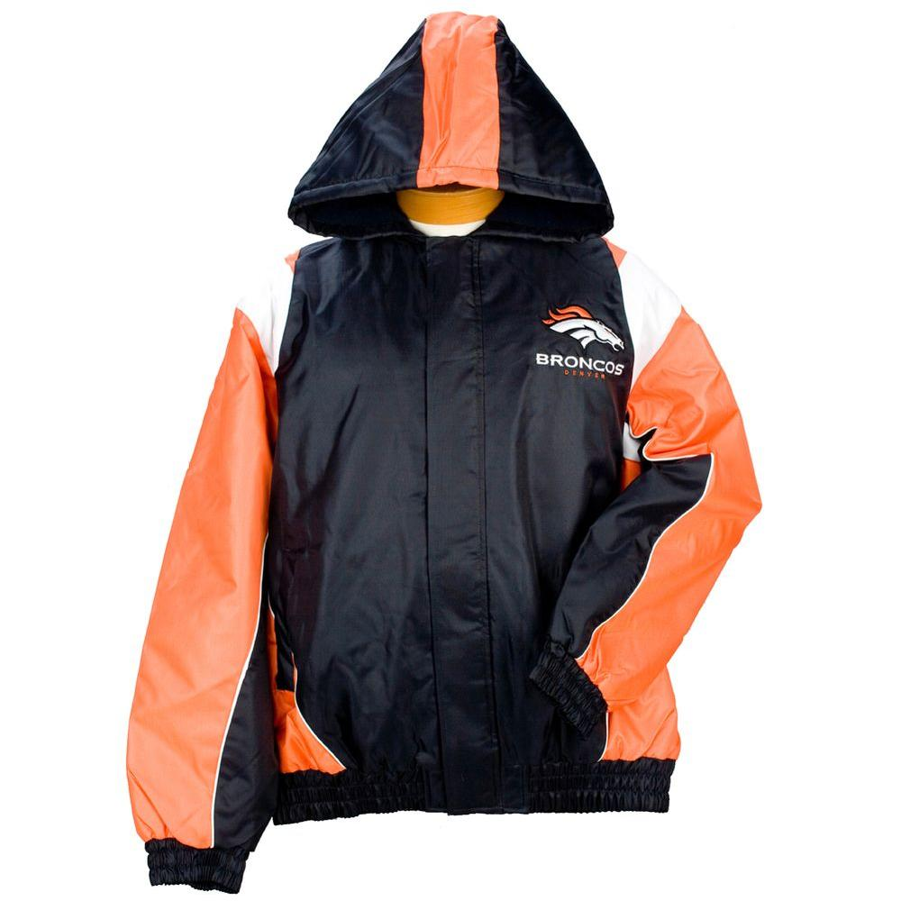3G NFL Licensed Broncos Winter Coat Size XXL-DISCONTINUED